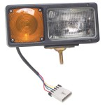Snowplow Light with integrated parking and turn signal lights