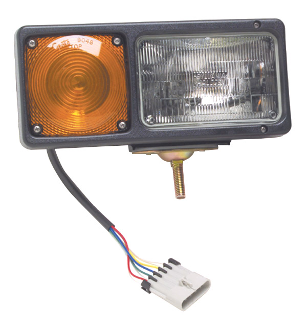 Grote Industries - 64281 – Per-Lux® Snowplow Light, Sealed Beam w/ Connector, RH