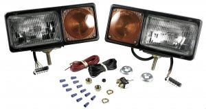 64291-4 – Per-Lux® Snowplow Lights, Sealed Beam w/ Connector, Pair Pack
