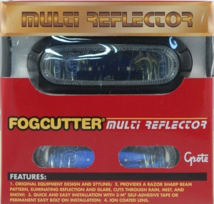 64371-5 – Slim-Line Halogen Fog Light, Clear Kit