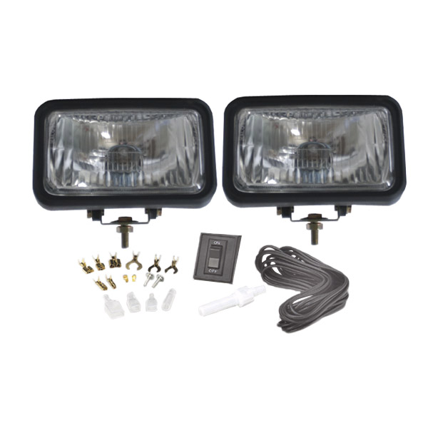 Grote Industries - 64401-5 – Sport & Utility Light Kit, Driving Kit, Clear, Retail Pack