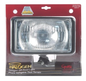 "7"" Rectangular Off-Road Lights"