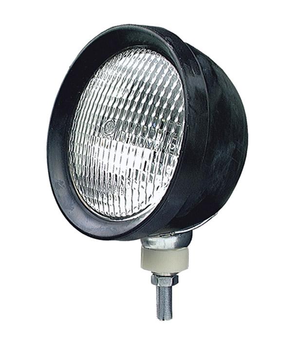64943 – Par 46 Utility Light, Rubber, Incandescent, Yellow Lens, Flood