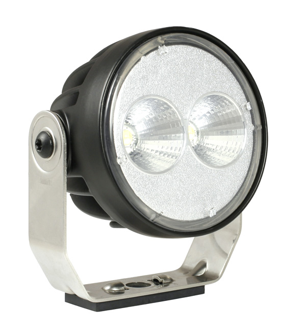 Grote Industries - 64e01 – Trilliant® 26 LED Work Light, w/ Pigtail, 1800 Lumens, Pinch Mount, Far Flood