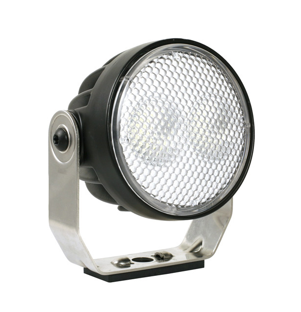 Grote Industries - 64e11-5 – Trilliant® 26 LED Work Light, w/ Pigtail, Pinch Mount, 1800 Lumens, Pinch Mount, Near Flood, Retail Pack