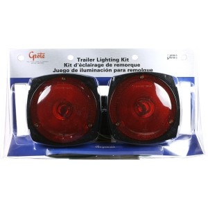 65190-5 – Trailer Lighting Kit with Side Marker Light, w/out Clearance Marker, Red, Retail Pack