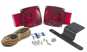 Utility Lighting Kit for Trailers Over 80