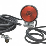 heavy duty magnetic towing kit red