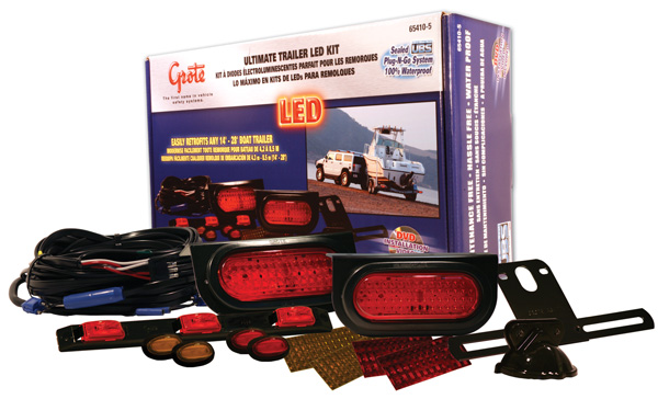 grote industries ultimate led trailer lighting kit installing underwater led boat lights wiring up led boat lights