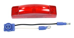 65512 – SuperNova® 3″ Thin-Line LED Clearance Marker Light, Red Kit (47242 + 66930)