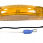 supernova thin line led clearance marker light yellow kit