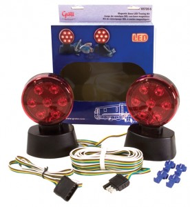 65720-5 – Magnetic LED Towing Kit, Red