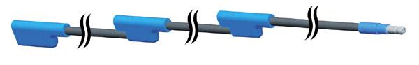 66111 – Triple-Light ID Harness, 54″ Long, Universal Jumper (31″x12″x12″)