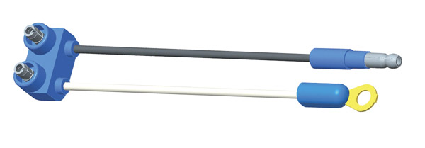66800 – Sealed Marker Lamp Pigtails, 6″ Long, Chassis Ground, Slimline .180 Male