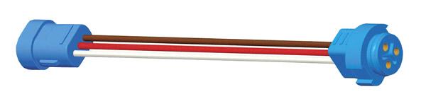 66830 – Adapter Plugs, 6″ Long, Female Pin to Male Pin Lamp Termination