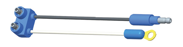 66840 – Sealed Marker Light Pigtail, Single Seal, 6″ Long, Chassis Ground, Standard .180 Male