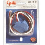 66843-5 - Stop Tail Turn Three-Wire 90º Plug-In Pigtails for Female Pin Lights, 18