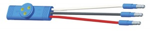 66904 – Sentry Light Pigtail, 6″ Long, Ground Return, Slim-Line .180 Male