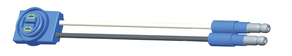 66931 – Thin-Line LED Pigtail, 6″ Long, Ground Return
