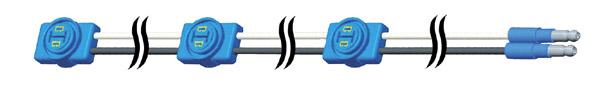 66932 – Triple-Light ID Harness, 60″ Long, LED Triple-ID Jumper (36″x12″x12″)