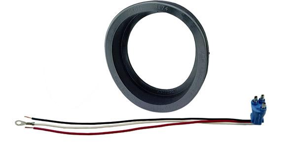 67150 – Grommet For 4″ Round Lights, Open Grommet, Kit (91740 + 67000)