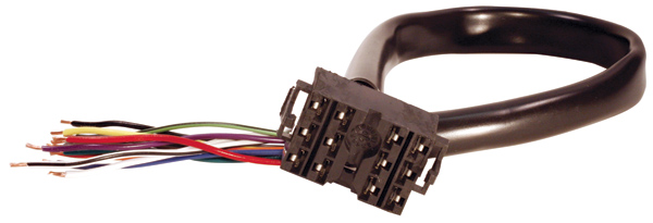 Universal Plug-In 12 Wire Harness For Switches With Cruise Or Wiper Control