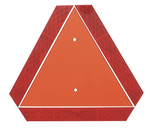 71152 – Slow-Moving Vehicle Emblem, Orange/Red
