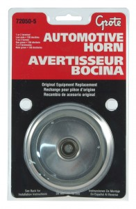 72050-5 – Electric Automotive Horn, Low Import, Retail Pack