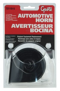 72110-5 – Electric Automotive Horn, Low Domestic, Retail Pack
