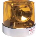 Compact Four Sealed-Beam Roto-Beacon, Yellow