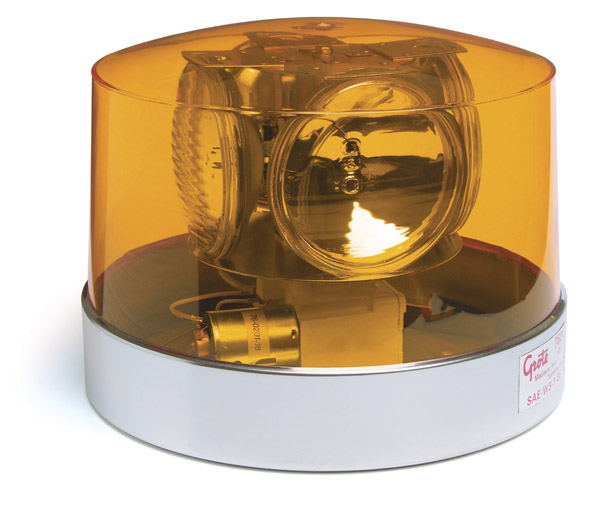 76243 – Four Sealed-Beam Roto-Beacon, Yellow