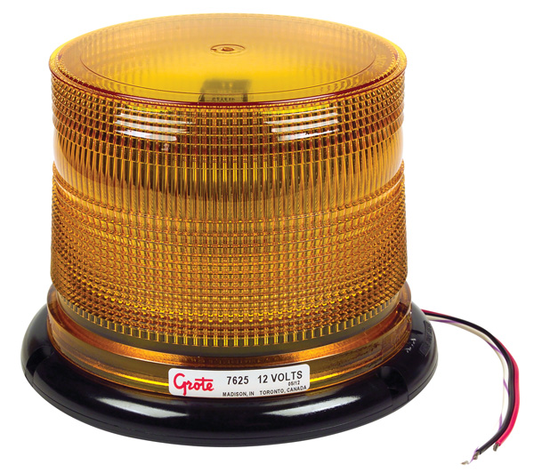 76253 – Class I LED Beacon, Low Profile, Yellow