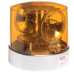 yellow 24 volt two sealed beam roto beacon
