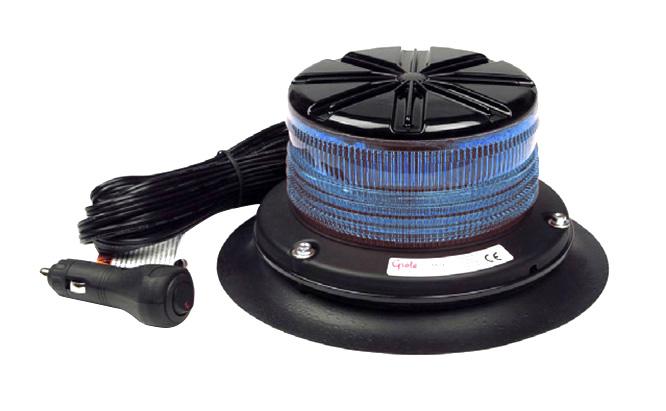 76675 – Low Profile Class I LED Beacon, Blue, Vacuum Mount