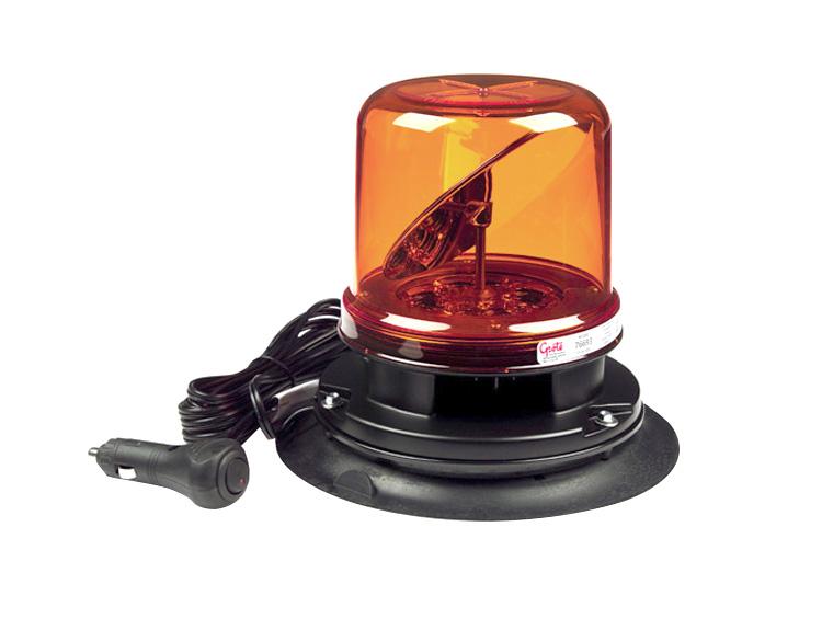 76693 – RotoLED™ Class I LED Hybrid Beacon, Vacuum Mount, Yellow