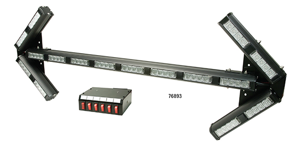 76893 – High-Intensity LED Directional Arrow Bar, Amber High-Intensity LED Directional Arrow Bar