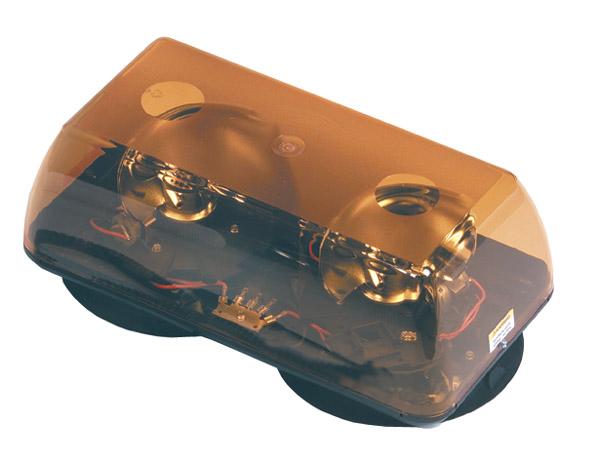 76923 – 15″ Rotating Hi-Intensity Portable Mini Light Bar, Vacuum/Magnet Mount, Yellow