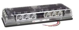 76980 – 17″ Low-Profile LED Mini Light Bar, Permanent Mount, Clear Lens, Yellow/White