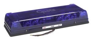 76985 – 17″ Low-Profile LED Mini Light Bar, Permanent Mount, Blue