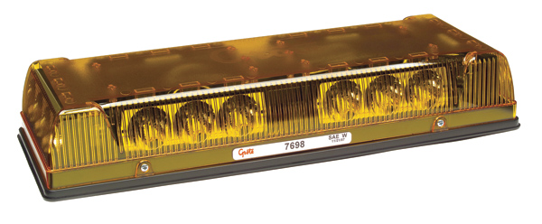 76993 – 17″ Low-Profile LED Mini Light Bar, Magnet Mount w/ Cigarette Lighter Adapter, Yellow