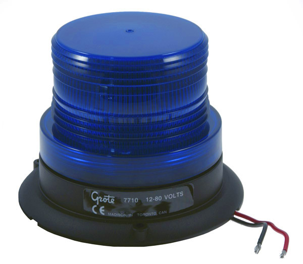 77105 – Mighty Mini Strobe, Single Flash, Blue