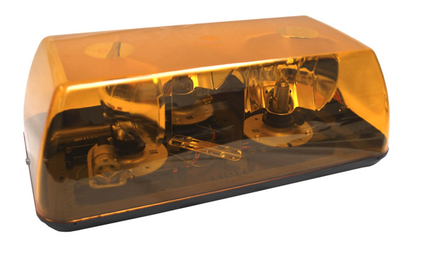 77163 – 15″ Rotating Mini-Light Bar Belt Drive, Yellow