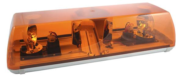 77173 – 22″ Rotating Emergency Warning Bar, Yellow, Belt Drive