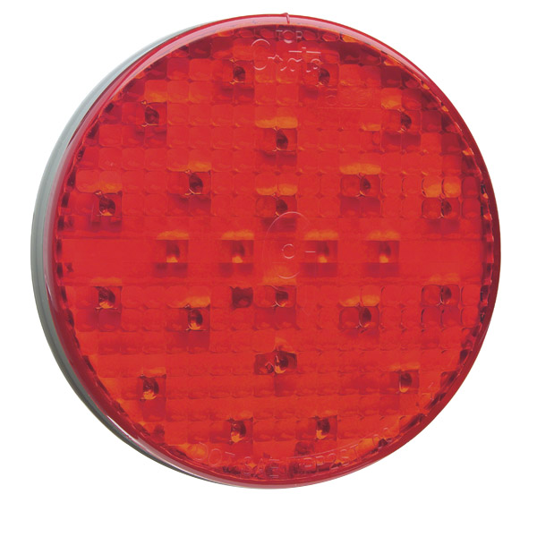 Grote Industries - 77352 – 4″ LED Strobe Light, Red