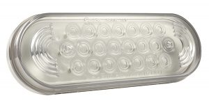 77361 – Oval LED Strobe Light, Clear