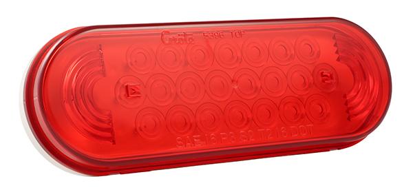 77362 – Oval LED Strobe Light, Red