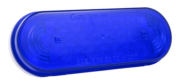 77365 – Oval LED Strobe Light, Blue