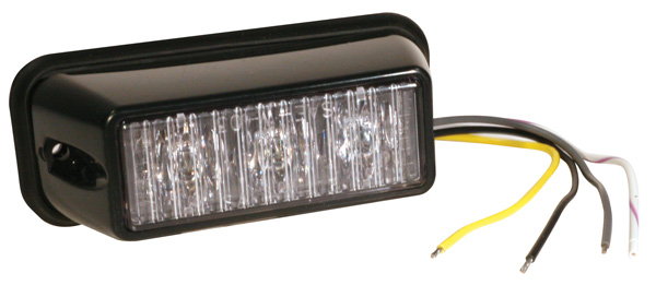 77461 – LED Directional Warning Light, Clear