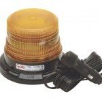 Mighty Mini Yellow LED Strobe Light With Cigarette Lighter Adapter.