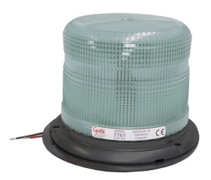 77611 – Medium Profile Heavy-Duty Strobe Light, Class I, Clear